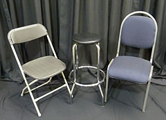 Triple T Party Rentals Ltd., Nanaimo - Folding Chair, Bar Stool, Padded Chair