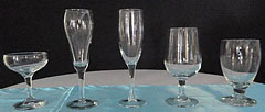 Triple T Party Rentals Ltd., Nanaimo - Champagne Glasses, Goblet, Water Glass